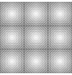 Design seamless diamond trellis pattern vector