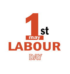 labour day logo concept with wrenches vector image