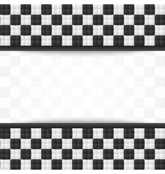 Chessboard document template vector image