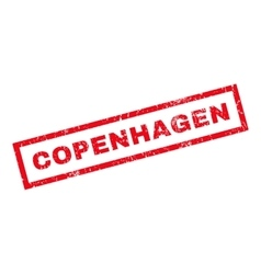 Copenhagen rubber stamp vector