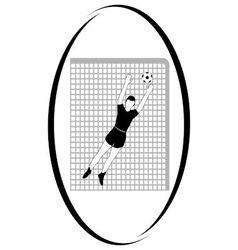 Football 3 vector image