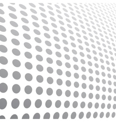 Halftone dots abstract background vector image vector image