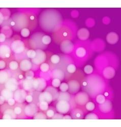 pink light defocus vector image