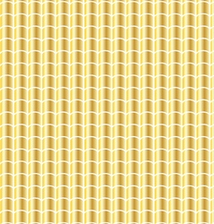 Gold tile pattern vector