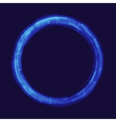 Abstraction digital circles light vector