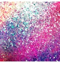 Amazing design on purple glittering EPS 10 vector image
