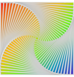 Design multicolor swirl movement background vector