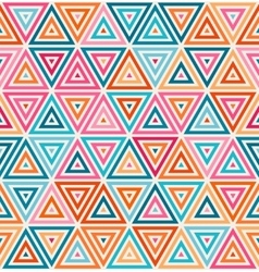 Seamless pink orange blue white random vector
