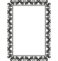 Rectangular frame vector