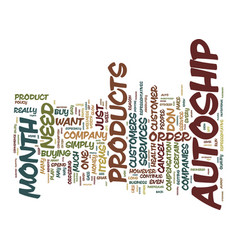 The myth of autoship text background word cloud vector