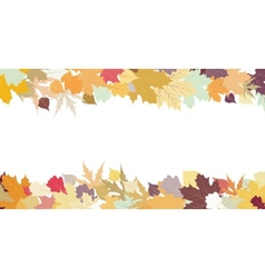 Autumn design with copy space EPS 8 vector image