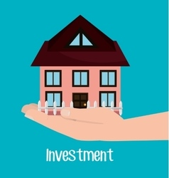Real estate investments vector
