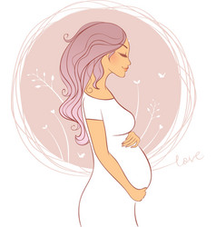 Pregnant pic vector