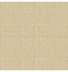 Natural linen pattern vector image