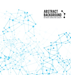 Abstract background network connect concept 004 vector image vector image