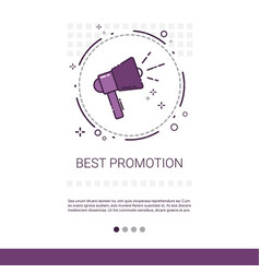 Best promotion sale shopping banner with copy vector