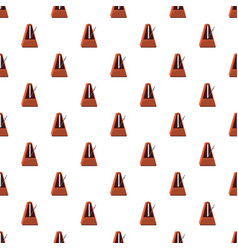 Classic metronome pattern vector