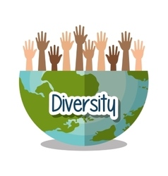diversity people design vector image