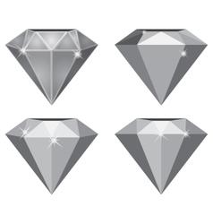 Simple Diamond vector image vector image