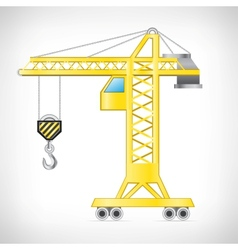 The crane vector image