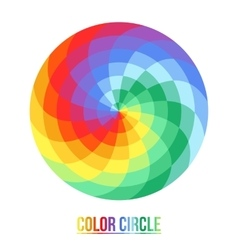 The palette of sixteen colors vector image