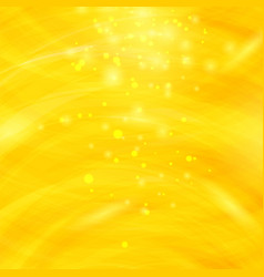 Yellow burst blurred background starry explosion vector