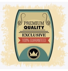 Label icon premium and quality design vector