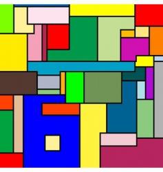 Mondrian texture vector