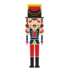 Nutcracker soldier vector