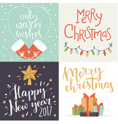 Christmas greeting card background banner vector