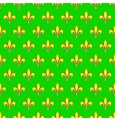 Mardi gras seamless pattern with fleur de lis or vector