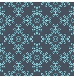 Ornate floral decor for wallpaper vector