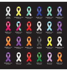 ribbon sets vector image
