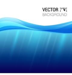 Water wave transparent surface with vector