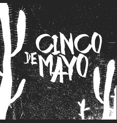 Cinco de mayo 5 of may holiday cinco de mayo vector