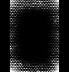 grunge halftone vintage background vector image