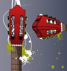 neck guitar vector image vector image