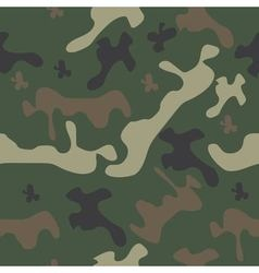 Seamless pattern camo vector