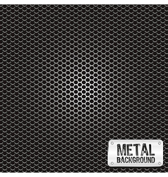 Metal grid pattern vector