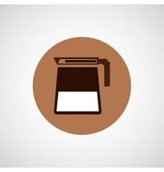 Coffee design coffeepot icon vector