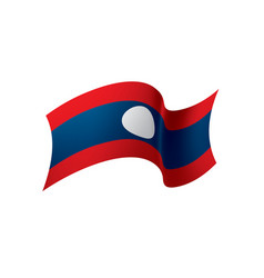 Laos flag vector