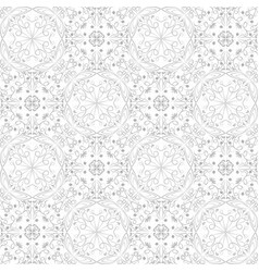 Low contrasting vintage ornament gray drawing on vector