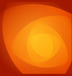 Smooth light orange waves lines abstract vector