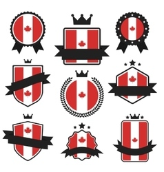 World Flags Series Flag of Canada vector image vector image