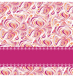 Orange purplepattern with stripe vector