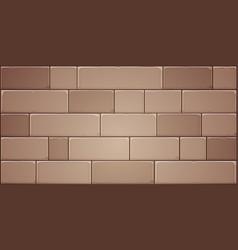 Stone block wall vector