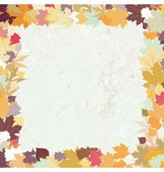 Grunge autumn background EPS 8 vector image