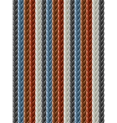 leather seamless braided vector image