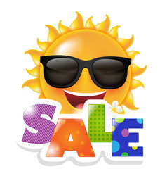Sun smile sale vector