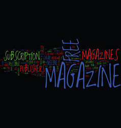 The myth of free magazine text background word vector